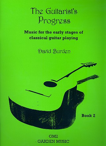 The Guitarist's Progress vol.2 - for classical guitar
