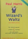 Wizard's Waltz and other Pieces for clarinet quartet (or 2 flute & 2 clarinets or mix and match with oboe, saxophone bassoon) grade 2 - 3