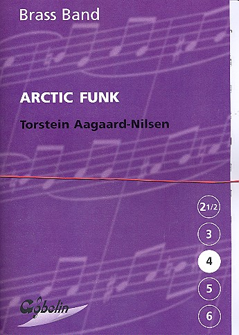Arctic funk - for brass band, score+parts
