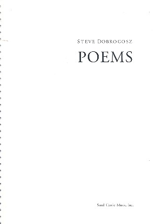 Poems for voice and piano