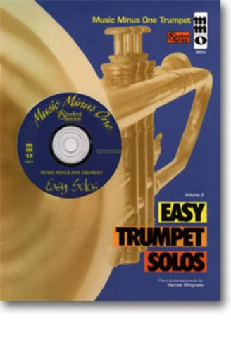 Music minus one trumpet Easy trumpet solos vol.2 Wingreen, Harriet, piano accompaniment