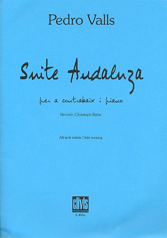 Suite Andaluza - for double bass in solo tuning and piano Afinación solista
