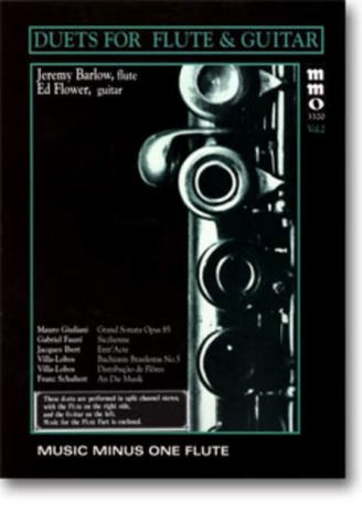 Music minus one Flute (+3 CD's) duets for flute and guitar vol.2