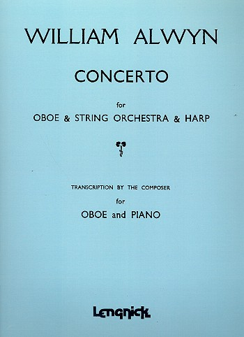 Concerto for Oboe and orchestra - for oboe and piano