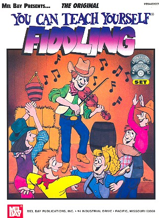 You can teach yourself Fiddling (+CD +DVD-Video)