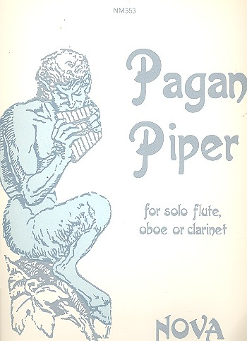 Pagan piper for solo flute, oboe or clarinet