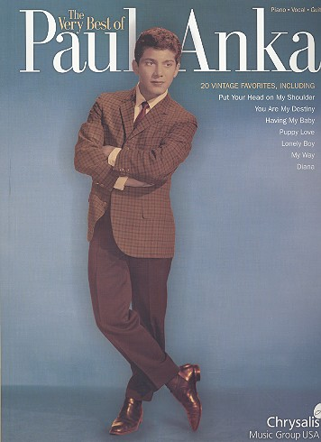 The very best of Paul Anka - songbook for piano/vocal/guitar