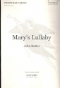 Mary's Lullaby - for mixed chorus a cappella score