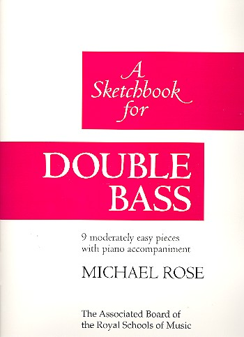 A Sketchbook - for double bass and piano