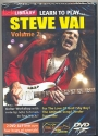 Learn to play Steve Vai vol.2 - DVD-Video