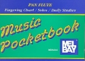 Pan Flute Music Pocketbook fingering chart, solos, daily studies