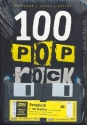 100 Pop Rock Songs (+5 CD's + Midifiles) - Songbook keyboard/vocal/guitar