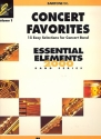 Concert Favorites vol.1 - for concert band for baritone treble clef