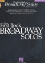 The first Book of Broadway Solos (+CD) - for soprano and piano