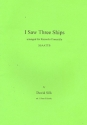I saw Three Ships - for recorder ensemble (SSAATTB) score+parts