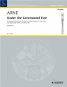 Under the Greenwood Tree - for voice, recorder and keyboard (2 violins and cello ad lib) score and parts
