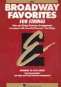 Broadway Favorites - for strings viola