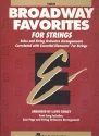 Broadway Favorites - for strings violin