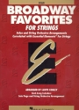 Broadway Favorites - for strings cello