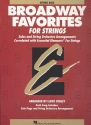 Broadway Favorites - for strings stringbass