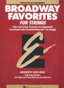Broadway Favorites - for strings percussion accompaniment