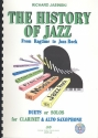 The History of Jazz (+CD) From Ragtime to Jazz rcok for clarinet and alto saxophone