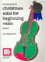 Christmas solos for beginning violin (level 1) with piano accompaniment