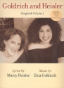 Goldrich and Heisler - Songbook vol.1 songbook piano/vocal/guitar