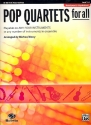 Pop Quartets for all - for 4 instruments (flexible ensemble) clarinet (bass clarinet) score