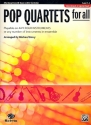 Pop Quartets for all - for 4 instruments (flexible ensemble) alto saxophone score