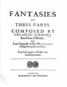 9 Fantasies of 3 Parts (+CD-Rom) for 3 viols (other instruments) score and downloadable parts