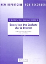 Dances from Don Quichotte chez la Duchesse for descant recorder and bc