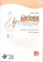 Challenging Brass for brass instrument treble clef (trumpet/cornet/horn)