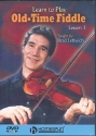 Learn to play old-time Fiddle vol.1 - DVD-Video