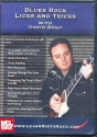 Blues Rock Licks and Tricks - DVD für E-Gitarre