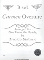 Carmen Overture - for piano 6 hands score