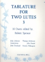 Tablature vol.3 for 2 lutes parts