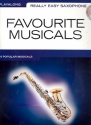 Favourite Musicals (+CD) - for really easy saxophone