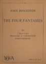 The 4 fantasies for 2 bass viols (basson/cellos)