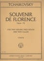 Souvenir de Florence op.70 for 2 violins, 2 violas and 2 cellos parts