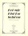 Bei mir bist du schön - for 4 recorders (ATTB) score and parts