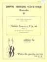 Petites sonates op.66 vol.1 for 2 bass viols (celli/Bassoon/bass refcorders) 2 scores