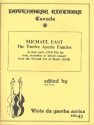The 12 Ayerie Fancies - for 4 viols (recorders/ mixed consort) (AATB) score and parts