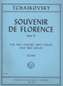Souvenir de Florence op.70 for 2 violins, 2 violas and 2 cellos score