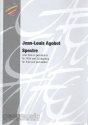 Spectre - for flute and percussion 2 scores