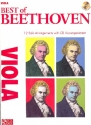 Best of Beethoven (+CD) for viola