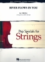 River flows in You for string orchestra score and set of parts