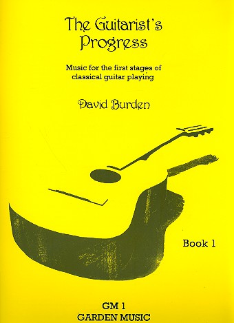The Guitarist's Progress vol.1 - for guitar