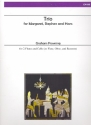 Trio for Margaret, Stephen and Hans - for 2 flutes and cello (flute, oboe and bassoon) score and parts