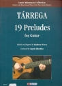 19 Preludes - for guitar